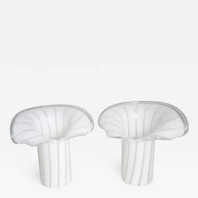 Gino Vistosi Pair of Murano Table Lamps by Gino Vistosi