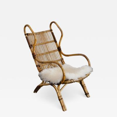 Gio Ponti Armchair model Continuum designed by Gio Ponti for Pierantonio Bonacina