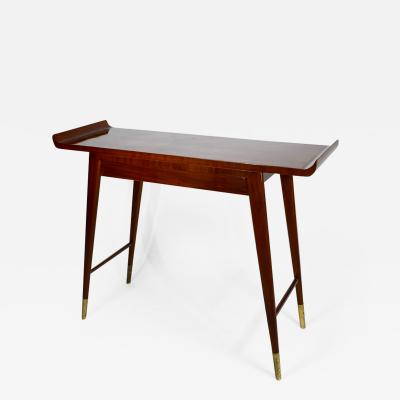Gio Ponti Elegant Single Drawer Console Table