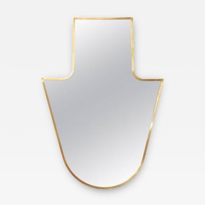 Gio Ponti Elegant Wall Mirror in Gio Ponti Style Made in Italy