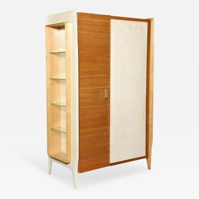 Gio Ponti Extraordinary Two Door Storage Cabinet by Gio Ponti