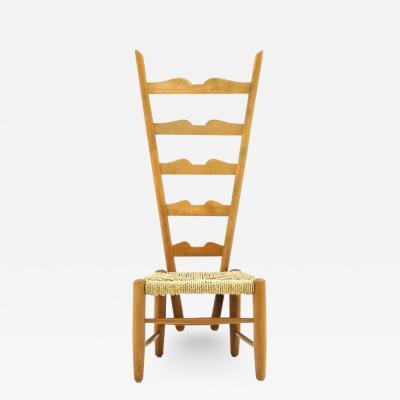 Gio Ponti Fire Side Chair by Gio Ponti Italy 1939
