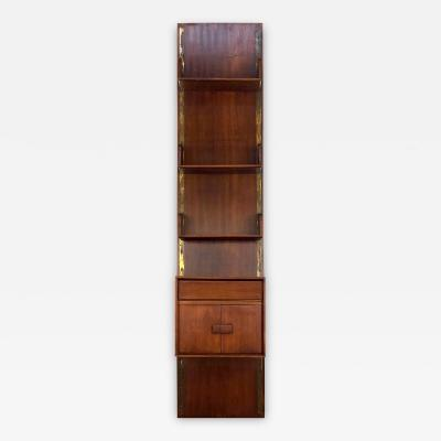Gio Ponti GIO PONTI WALL BOOKCASE from 1950 Mahogany wood