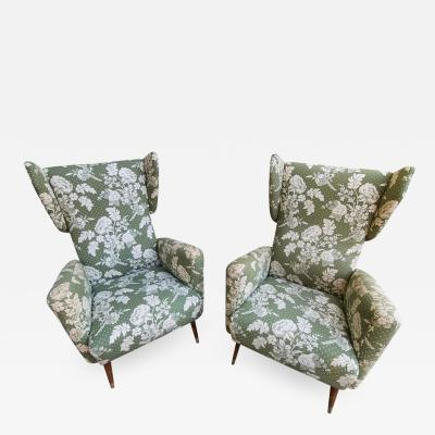 Gio Ponti Gio Ponti Armchairs for Hotel Royal by Dassi
