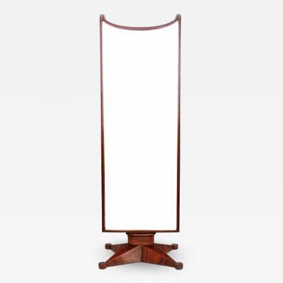 Gio Ponti Gio Ponti Art Deco Floor Mirror Italy 1930s