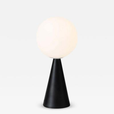 Gio Ponti Gio Ponti Bilia Mini Table Lamp in Black for Fontana Arte