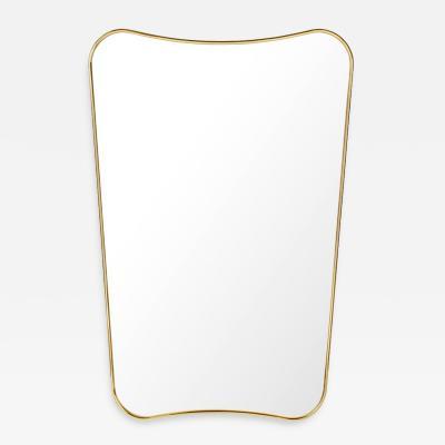 Gio Ponti Gio Ponti F A 33 Medium Mirror in Brass