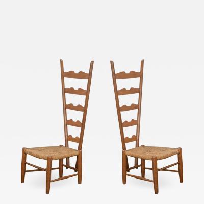 Gio Ponti Gio Ponti Fireside Chairs