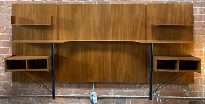 Gio Ponti Gio Ponti Headboards for Singer and Sons Italy 1950s
