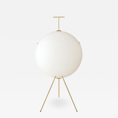 Gio Ponti Gio Ponti Luna Verticale Floor Lamp in Brass