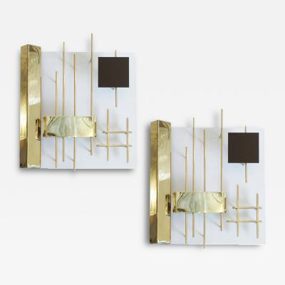 Gio Ponti Gio Ponti Quadri Luminosi Wall Lights Model 575