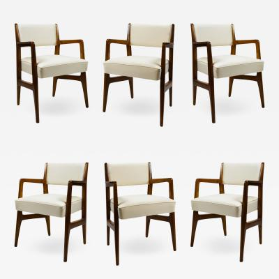 Gio Ponti Gio Ponti Six Chairs Designed for Augustus Motorboat by Cassina