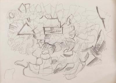 Gio Ponti Gio Ponti Sketch of a City Plan
