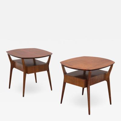 Gio Ponti Gio Ponti Style End Tables