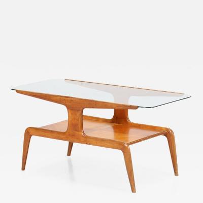 Gio Ponti Gio Ponti coffee table in ash and glass top