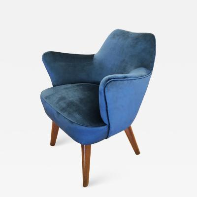 Gio Ponti Gio Ponti for Cassina Armchair with Expertise from the Archives