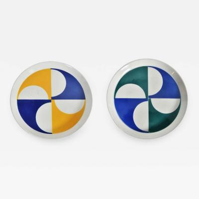 Gio Ponti Gio Ponti for Franco Pozzi Ceramic Plates