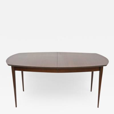 Gio Ponti Gio Ponti for Singer and Sons Walnut Extension Dining Table
