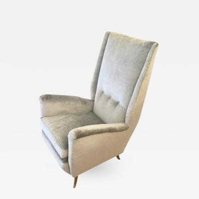 Gio Ponti ISA Armchair Attributed to Gio Ponti