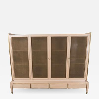 Gio Ponti ITALIAN CABINET WITH BRONZE SCREENS