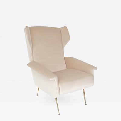 Gio Ponti Italian Lounge Chair in the style of Gio Ponti