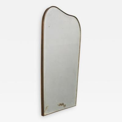 Gio Ponti Italian MidCentury Mirror for Fontana Arte Attributed to Gio Ponti 1950s
