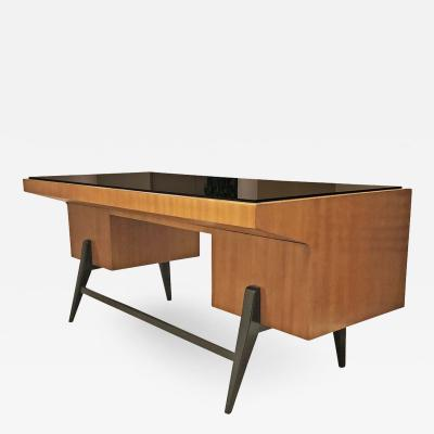 Gio Ponti Large Gio Ponti Attributed Desk