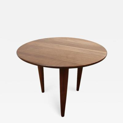 Gio Ponti Little Walnut Gueridon in the Style of Gio Ponti