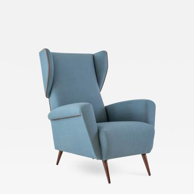 Gio Ponti Lounge or Wingback Chair