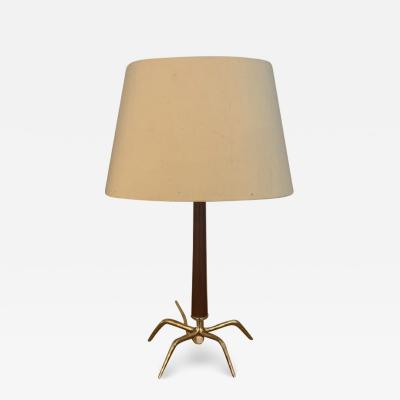 Gio Ponti Mid Century Modern Table Lamp in the style of Gio Ponti Italy circa 1955