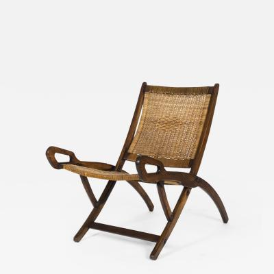 Gio Ponti Ninfea Folding Armchair for Fratelli Reguitti 1958