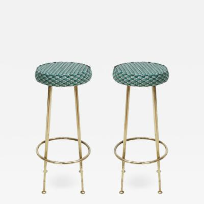 Gio Ponti PAIR OF STOOLS IN GIO PONTI STYLE