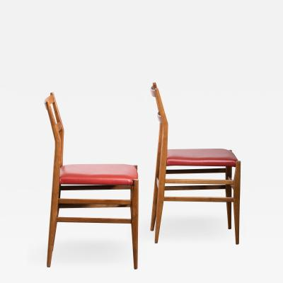 Gio Ponti Pair of Gio Ponti Leggera chairs