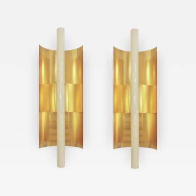 Gio Ponti Pair of Gio Ponti wall lights