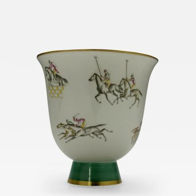 Gio Ponti Polo Vase by Gio Ponti for Richard Ginori