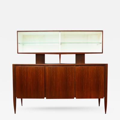 Gio Ponti Rare 2 Tier Cabinet by Gio Ponti for M Singer Sons