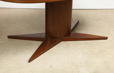 Gio Ponti Rare Oval Dining Table by Gio Ponti