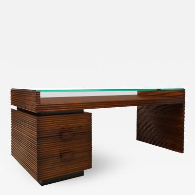 Gio Ponti Rare Partners Desk by Gio Ponti