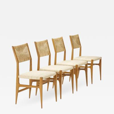 Gio Ponti Set of Four Gio Ponti Dining Chairs