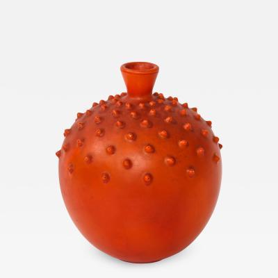 Gio Ponti Textured Vase by Gio Ponti for Ginori