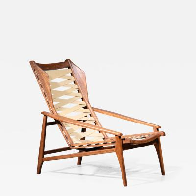 Gio Ponti Variation on Gio Ponti Lounge Chair Italy 1950s
