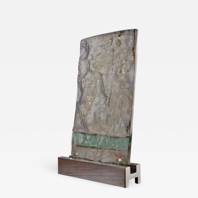 Gio Ponti Vetrate Grossa Glass Sculpture by Gio Ponti