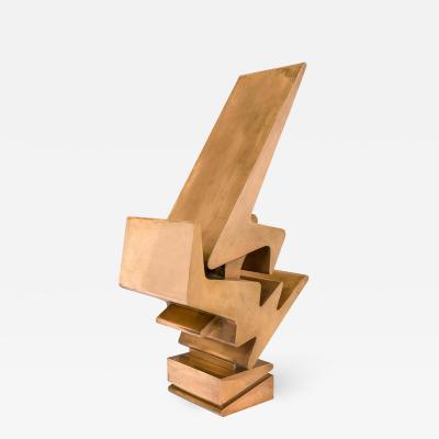 Giorgio Zennaro Signed Patinated Bronze Sculpture