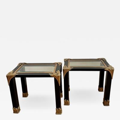 Giovanni Banci Pair of Side Tables