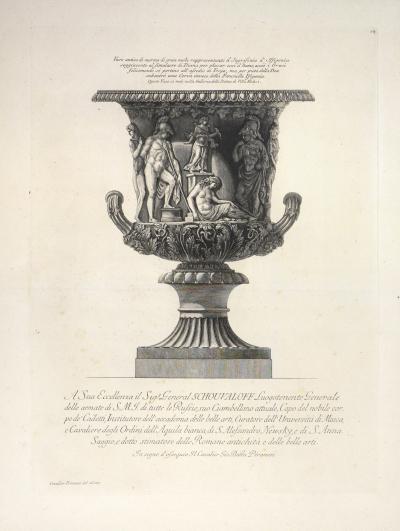 Giovanni Battista Piranesi Set of Four Vases by Giovanni Battistia Piranesi