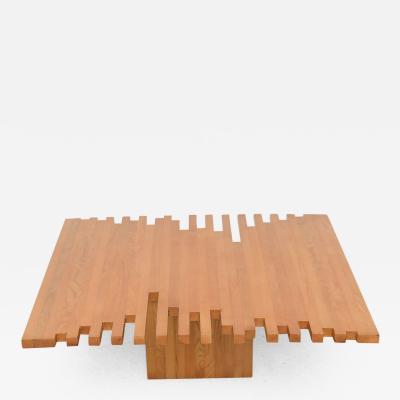 Giovanni Michelucci Italian Modern Low Table Giovanni Michelucci