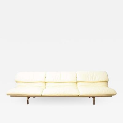 Giovanni Offredi Giovanni Offredi Wave Leather Sofa by Saporiti Italy