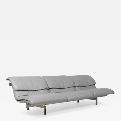 Giovanni Offredi Giovanni Offredi Wave Three Seat Sofa for Saporiti 1974