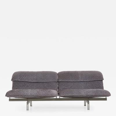 Giovanni Offredi Giovanni Offredi for Saporiti Wave Two Seater Sofa Italy c 1970s