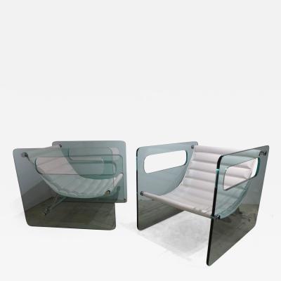 Giovanni Tommaso Garattoni Pair of Naked Chairs by Giovanni Tommaso Garattoni